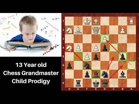 13 year old Chess Grandmaster Child prodigy: Nodirbek Abdusattorov vs Stefansson :Reykjavik 2018