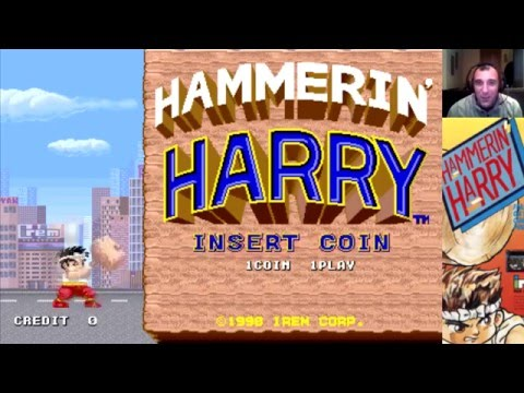 Harry Hammerin (FULL)// Arcade // RETRO.