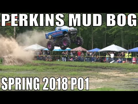 PERKINS SPRING MUD BOG 2018 PART 1
