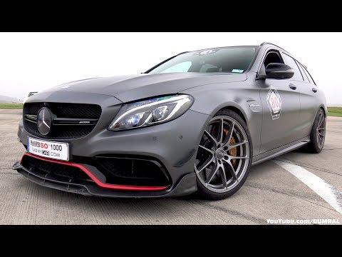 Mercedes-AMG C 63 Estate S205 Edition 1 – REVS + DRAG RACE!
