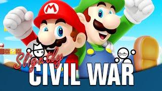 Is Luigi Better Than Mario? | Slightly Civil War