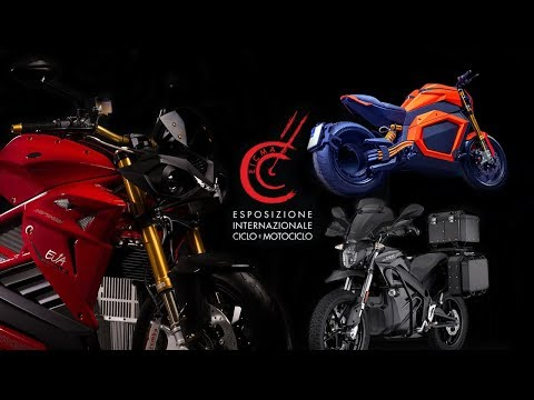EICMA 2019 Electric Motorcycles OMG