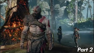 GOD OF WAR Walkthrough Gameplay Part 2 -THE PATH TO THE MOUNTAIN