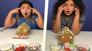 Twin Telepathy Gingerbread House Challenge