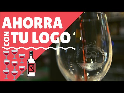 video Vaso conico 33 cl – Personalizado Láser
