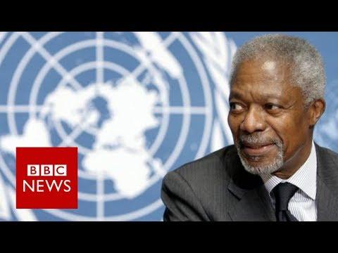 Kofi Annan: Former UN chief dies at 80 - BBC News