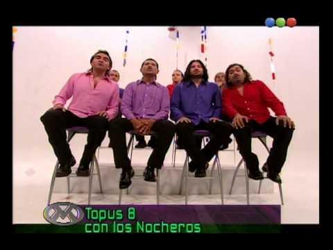 Los Topus 4 y Los Nocheros - Videomatch