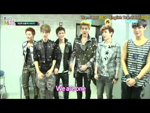 (Eng Sub\HD)120522 EXO-M Show Champion Behind the scene[迷戀EXO-Mania]
