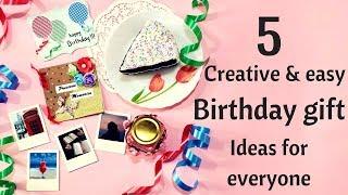 DIY  Birthday Gift Ideas - Part 1