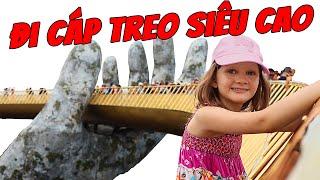 Khám Phá Bà Nà Hills 2019- Cáp Treo Siêu Cao, Cầu Vàng, Ăn Buffet   Stefi & Emi Travel Vlog