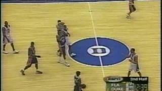 Corey Maggette Duke Basketball High Fives the Backboard