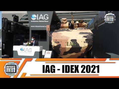 IDEX 2021 IAG unveils new Rila 8x8 Infantry Fighting Vehicle Rila Xtreme MRAP anti-riot water cannon