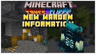 NEW 1.17 Warden Information | Minecraft 1.17 Caves & Cliffs Update