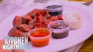 Gordon Served Filet Mignon Fondue | Kitchen Nightmares