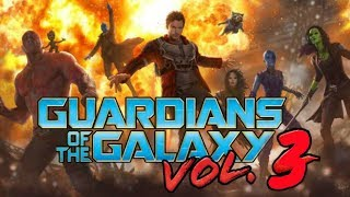 HUGE GUARDIANS OF THE GALAXY VOL 3 NEWS DROPPED BY JAMES GUNN