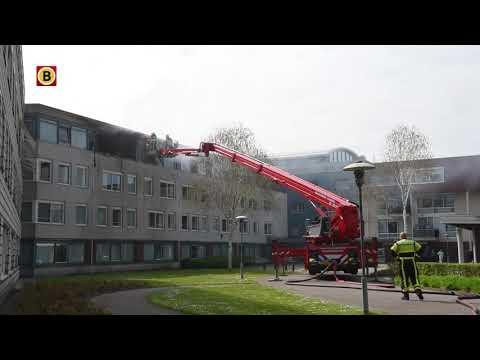 Brand bij verzorgingshuis: ontruiming en gewonden