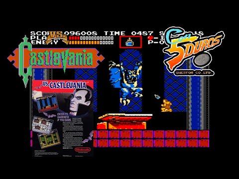 """VS. CASTLEVANIA - """"CON 5 DUROS"""" Episodio 896 (+ver MS-DOS) (1cc) (1 loop)"""
