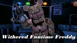 [FNAF | Speed Edit] Making  Funtime Withered Freddy
