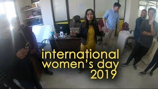 Women's day at SHARDA IT SERVICE 2019