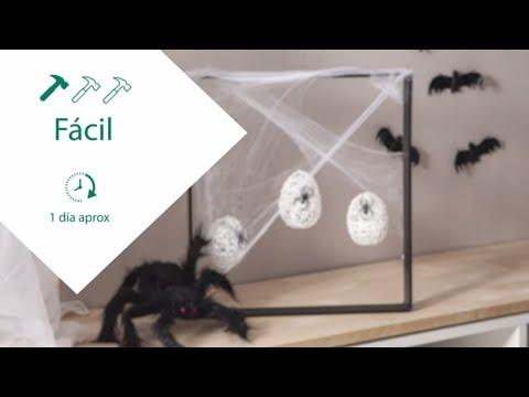 Crea nidos de araña para Halloween – LEROY MERLIN