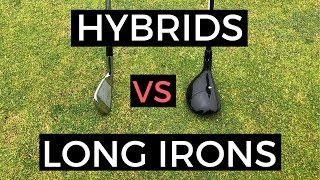 HYBRID SWING VS LONG IRON SWING