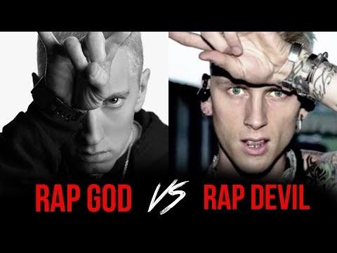 Machine Gun Kelly Disses Eminem, Hailie, Kim And G-Eazy On New Track 'Rap Devil'