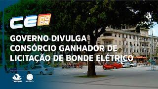 Governo divulga consórcio ganhador de licitação de bonde elétrico