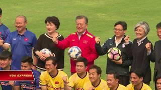 TT Hàn Quốc gặp HLV Park Hang-seo và tuyển U23