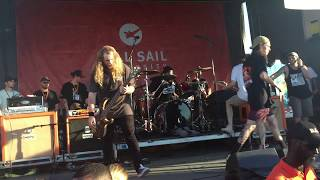 Knocked Loose Live @ Warped Tour West Palm Beach, Florida 7-2-2017