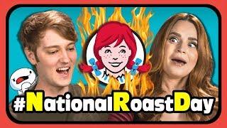 YouTubers React To #NationalRoastDay