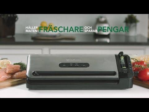 Foodsaver Stream FFS017X - Instruktionsfilm på svenska