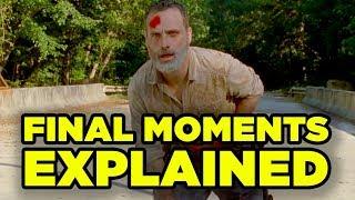 WALKING DEAD Rick Final Episode Explained! Details You Missed!