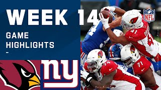 Cardinals vs. Giants Week 14 Highlights | NFL 2020