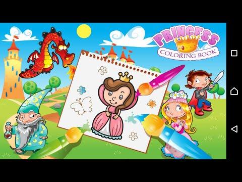 книжка раскраска принцесса 1 4 0g загрузить Apk для