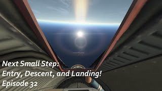 Entry, Descent, and Landing! - KSP/RP-1 - Next Small Step Episode 32
