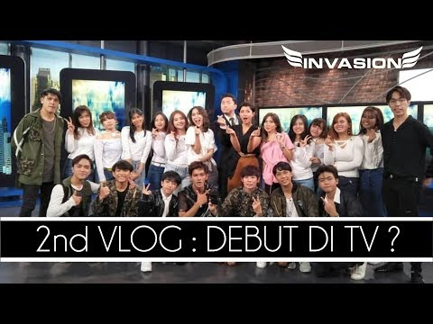 INVASION VLOG - #02 DEBUT DI TV