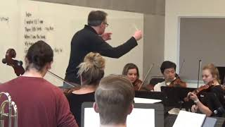 Kevin Class: Bizet's  Carmen - rehearsal and performance excerpts