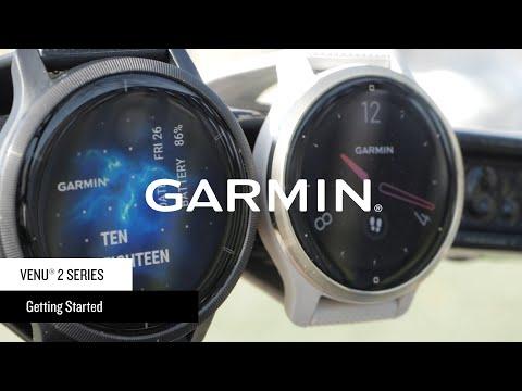 Garmin Venu® 2 Series: Getting Started