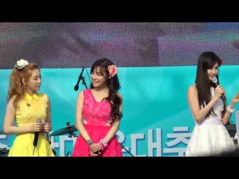 소녀시대.태티서(Taetiseo) - 입장 + Baby Step + Twinkle _Kyungbock.High School.Event.FanCam. 130525