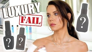 LUXURY MAKEUP FAILS ... Save Your Money