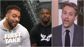 Sony Michel, Kyle Van Noy address Max Kellerman's hatred of the Patriots | First Take
