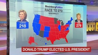 Bloomberg's Election Night in a Minute