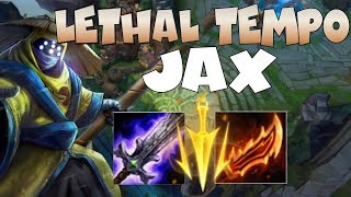 MEME KILLER LETHAL TEMPO JAX IS STUPID OP!!! DESTROY NEW IRELIA IN LANE!!!