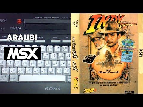 Indiana Jones y la Última Cruzada (US Gold, 1989) MSX [157] El Kiosko
