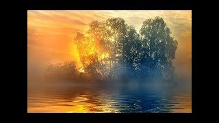 Ukrainian Sunset over the Lake   World's Destinations     Nature Relax Video