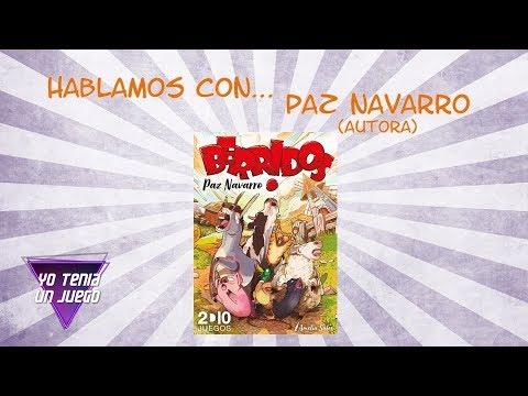 Berridos - Hablamos con Paz Navarro (Autora) - Yo Tenía Un Juego De Mesa #51