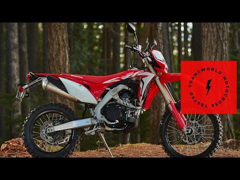 2019 Honda CRF450L | Technical Briefing