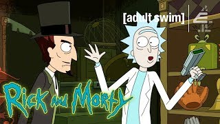 Rick Outsmarts the Devil | Rick and Morty
