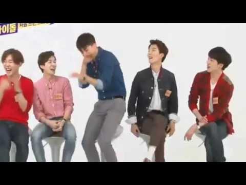 Winner Mino funny + imitating GD XD @Weekly Idol