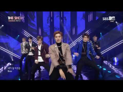 180306 NCT U 엔시티 유 -  BOSS @ SBS MTV The Show | 1080p 60fps